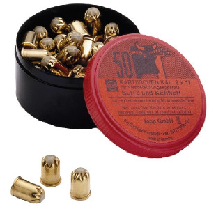 Red cartridges Blitz-Kerner, 50 pieces