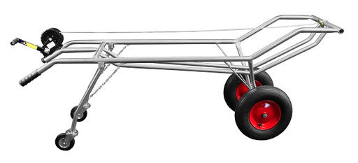 Stainless steel carcass trolley