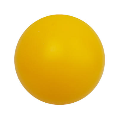 Toy ball for pigs, yellow 30 cm