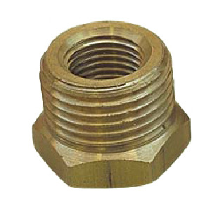 "Brass adaptor ring, 1/2"" x 3/8"""