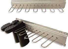 Boot rack for 3 pairs, stainless steel
