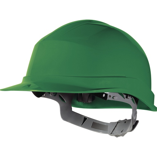 UV-resistant high density polyethylene (HDPE) safety helmet