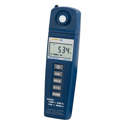 Digital Lux Meter, from 0.00 to 40,000 lux
