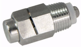 "Spray nipple 1/2"", inox with slot 45º"