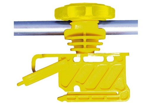 Insulator For Metal Posts or Fiberglass. For Use With Poly Wire, Poly Rope And Poly Tape Model 9