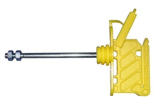 Insulator For Metal Posts: For Use With Poly Tape And Poly Rope Model 35