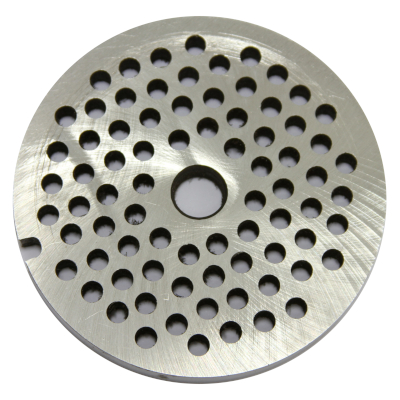 Meat mincer no. 32 stainless steel plate - Hole diameter: 6 mm