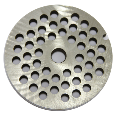 Meat mincer no. 32 stainless steel plate - Hole diameter: 8 mm