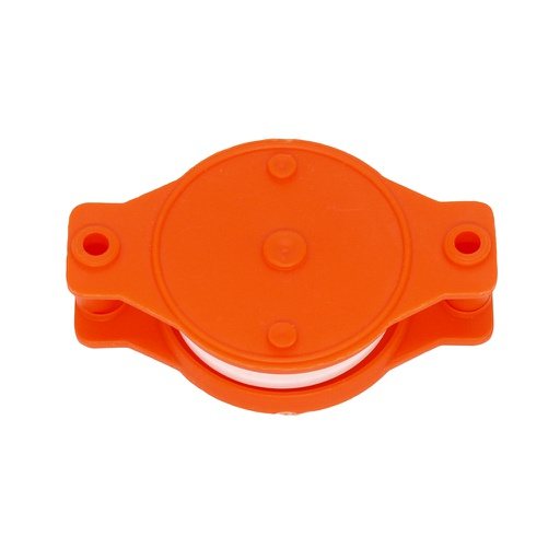 Plastic wheel with plastic protector