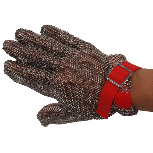 Stainless steel chainmail glove