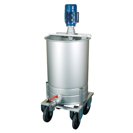 Wet feed Mixer 90 liters with motor
