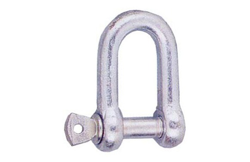 "Shackle 3/16"" 5 mm, galvanized"