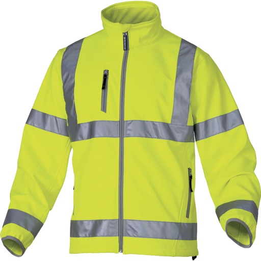 "Polyester / Elasthane ""Softshell"" Jacket With 3 Laminated Layers"