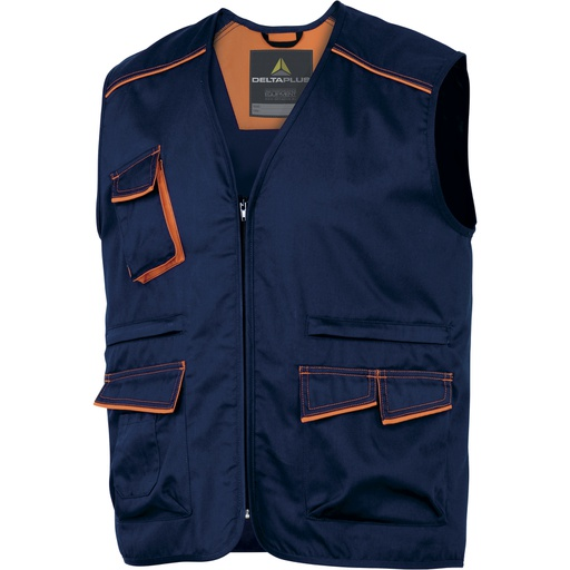 Multipocket Vest Polyester / Cotton