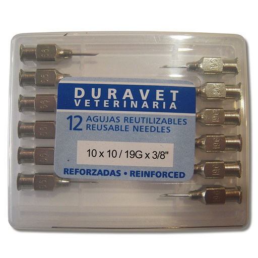 Reusable needles, Duravet, reinforced