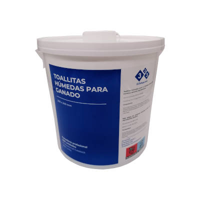Wet wipes. Professional livestock disinfection. 800 Units