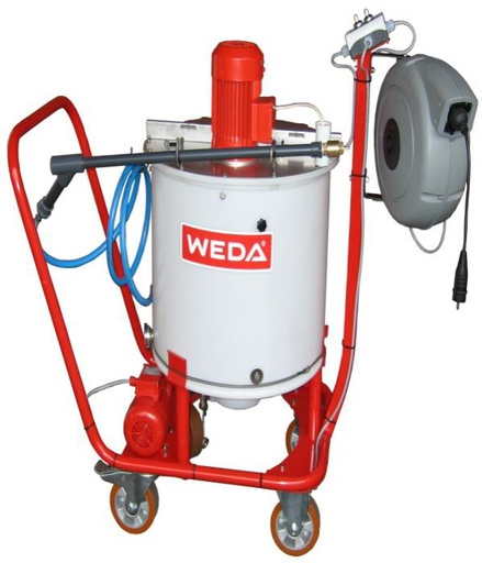 Mobile feed dispenser Easy Feeder Weda