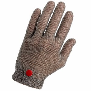 WILCO, 100% stainless steel chainmail glove, without cuff