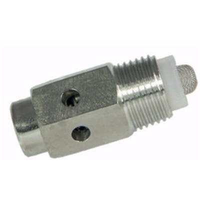"Spray nipple with 3 holes, 1/2"", inox."
