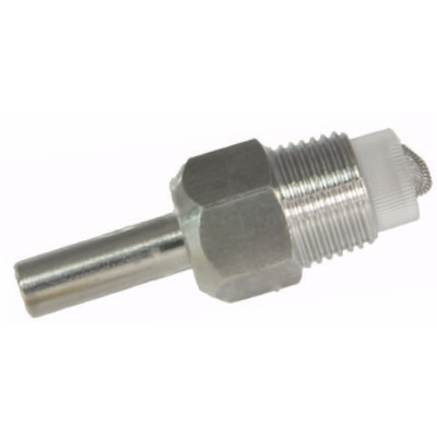 "Wet feed nipple inox 1/2"" male thread"