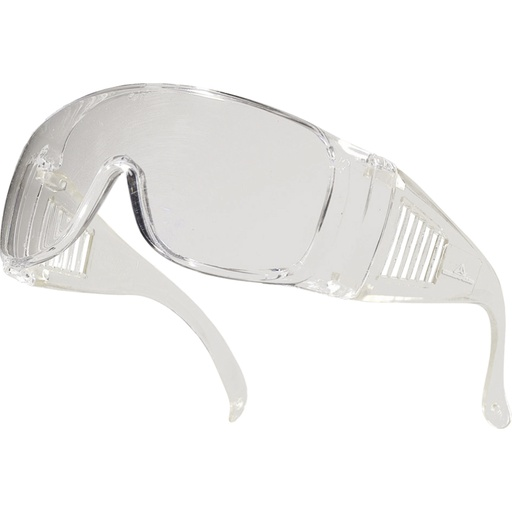 Clear polycarbonate single lens glasses Piton