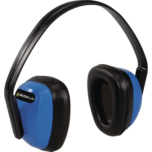 Ear defenders with polystyrene (PS) and synthetic foam cups