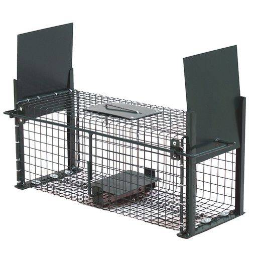Live Cage Wire Trap - Trapping Rabbits Rats and small Rodents - 50x18x18cm