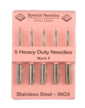 Stainless steel needles for meat tagging gun