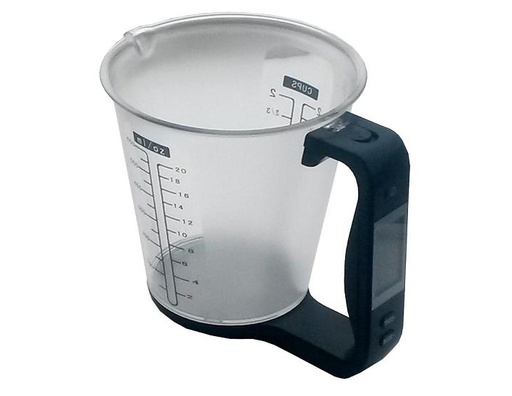 Digital weighing jug