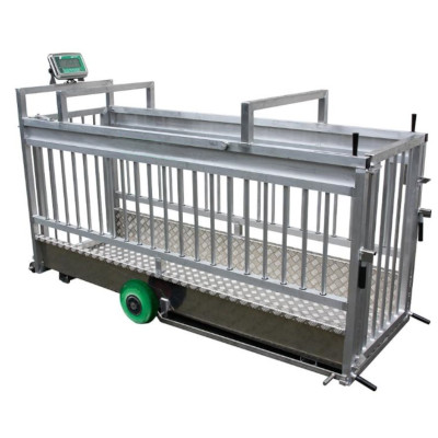 Mobile weighing unit specially designed for sows