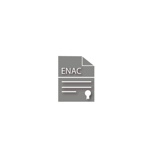 ENAC certification. 1-g to 100-kg weights