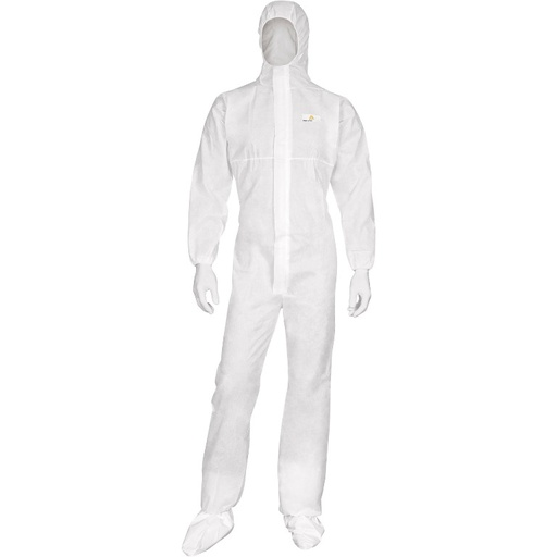 Non-woven hooded overall