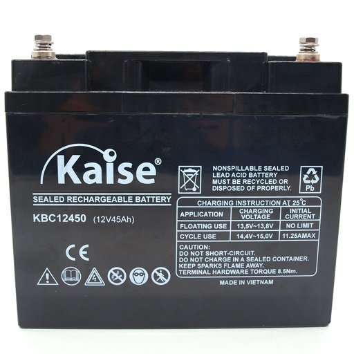 Batterie 12V-45Ah/20h Gel Cycle