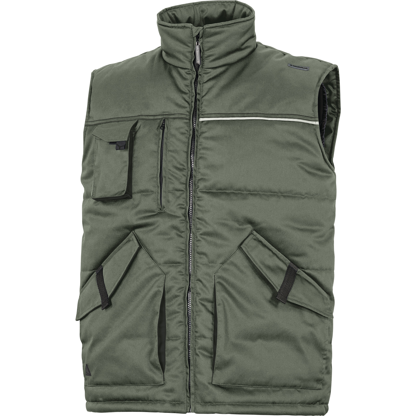 Gilet chaud multipoches