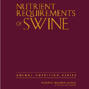 Nutrient Requirements of Swine (National Research Council) [Tapa dura]