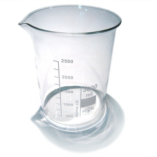 Vaso de precipitado de 3000 ml