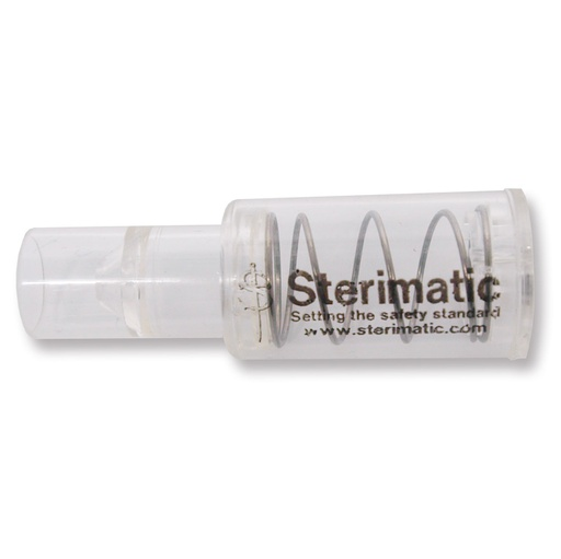 Sterimatic adaptador PUSH FIT para jeringas reutilizables